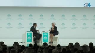 كلمة مدير عام صندوق النقد الدولي كريستين لاغارد (كاملةً) في القمة العالمية للحكومات