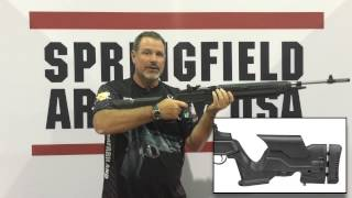 Gun Tests SHOT 2015 Springfield Armory M1A Adjustable Stock Rifle MP9820