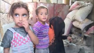نازحون يمنيون يقيمون في مدرسة جنوب تعز