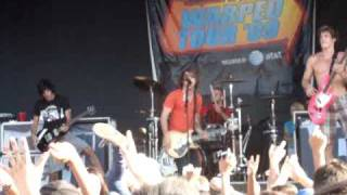 All Time Low- Dear Maria Van's Warped Tour 2009