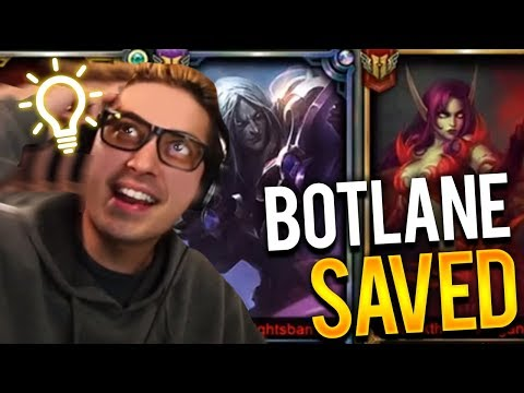 WE SAVED OUR BOTLANE! | TWITCH RIVALS SCRIMS FT TEAM PEPEGA - Trick2g
