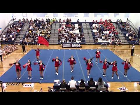 Riverheads High School at Harrisonburg Blue Streak Cheerleading Invitational 2019