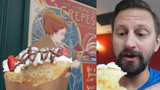 Trying New Food At Universal Studios! | Crepe Stand Is Now Open, New HHN Merch & A Giveaway!