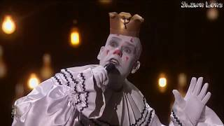 Puddles Pity Party CRIES on Stage!! America's Got Talent Live Shows FULL Performance