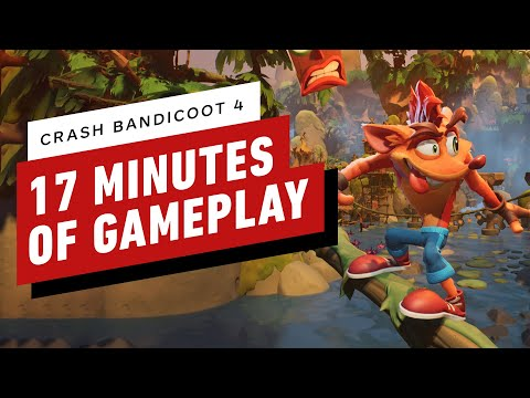 Crash Bandicoot 4: It's About Time Demo – 17 Minutes of Gameplay