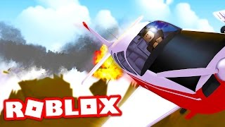 CRASHING MY $10,000,000 PRIVATE JET IN ROBLOX! (Roblox Vehicle Simulator)