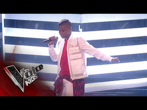 donel-mangena-performs-'bang-like-a-drum':-the-final-|-the-voice-kids-uk-2018