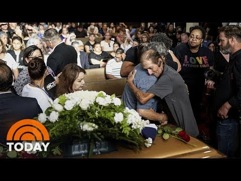 Hundreds Turn Out For El Paso Shooting Victim's Funeral | TODAY