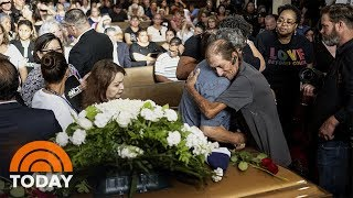 Hundreds Turn Out For El Paso Shooting Victim's Funeral   TODAY