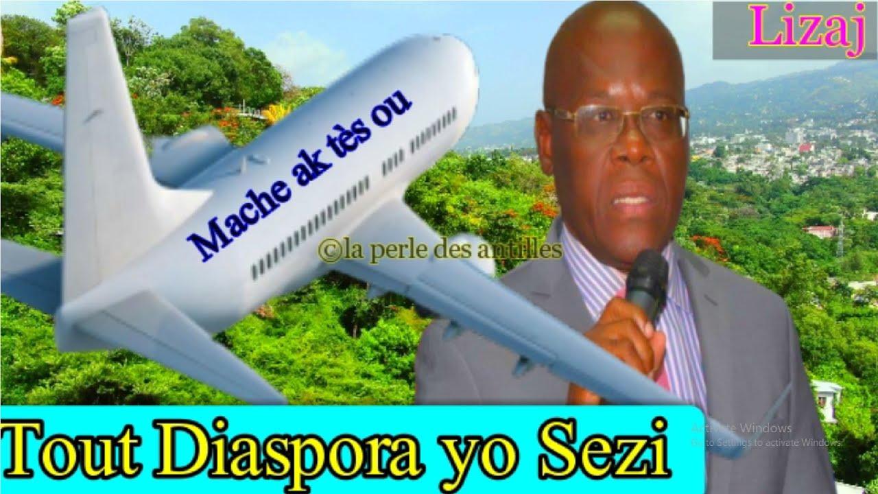 PM Jouthe fè Tout Diaspora yo Sezi. Bwa mare pou antre Haiti nan moman an