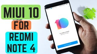 How to Install MIUI 10 on Redmi note 4💣