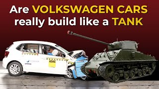 Volkswagen Cars after accident!! Truth about their build quality