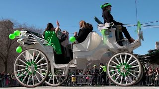 Chicagoans celebrate St. Patrick's Day with parade, river dyeing