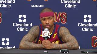 Isaiah Thomas - Cavs Media Day 2017