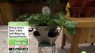 Nancy Jane's Self Watering Deck Rail Planting System