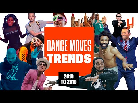 A Decade Of Dance Moves - From 2010 To 2019 !