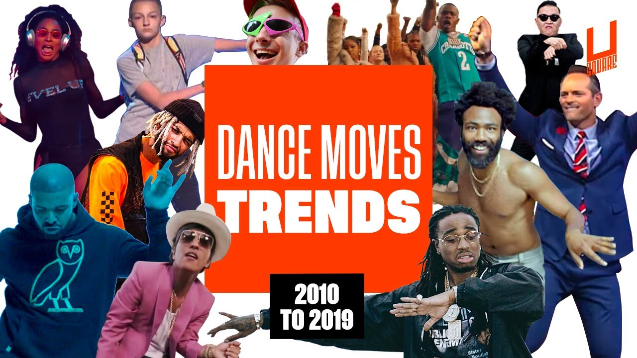 Decade best dance moves - From 2010 to 2019 !