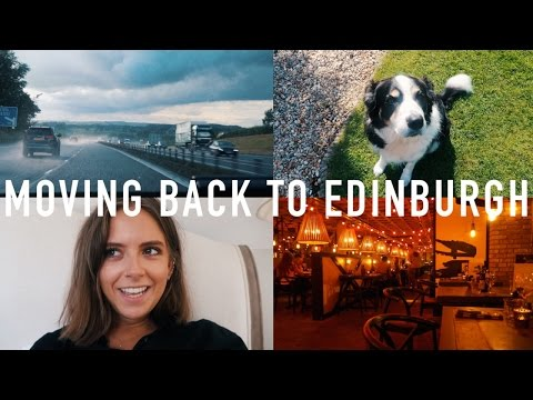 MOVING BACK TO EDINBURGH PART 1 | sunbeamsjess