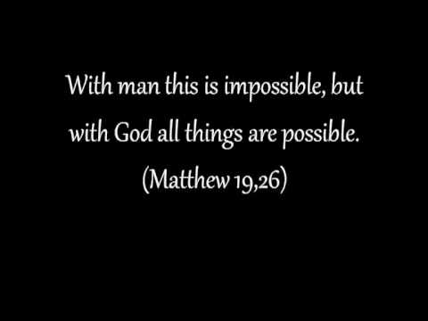 Nothing Is Impossible - Planetshakers with lyrics