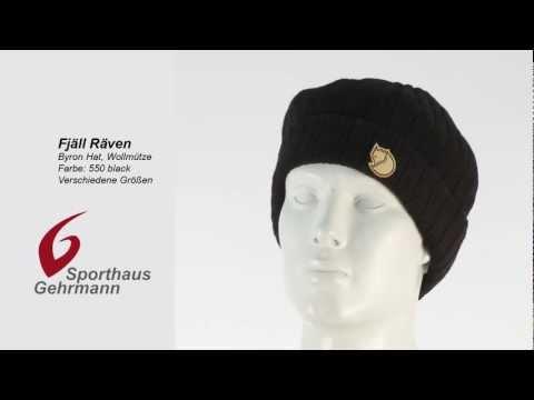 Fjäll Räven Byron Hat, Wollmütze, 550 black - schwarz