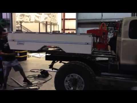 Dodge Dakota Expedition Camper Bed Youtube