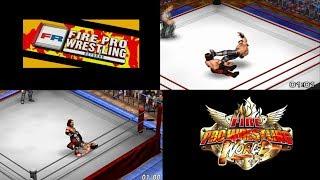 Fire Pro Wrestling World/Returns - Side by Side: AJ Styles vs. Seth Rollins