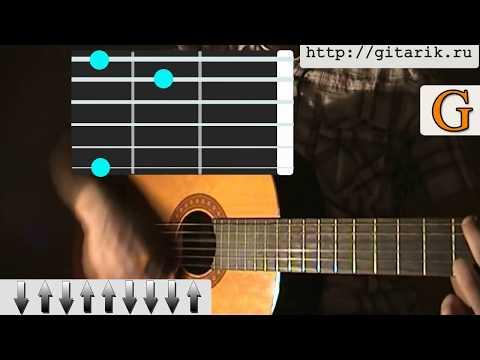 Армейские - Пей моряк Видеоурок на гитаре