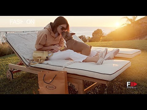 0fb163d651f TOD'S PUPPY SCHOOL Backstage with Kendall Jenner ADV Campaign SS 2018 -  Fashion Channel