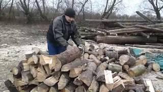 Заготовка дров!Микроавтобус для перевозки дров!(, 2018-01-14T14:03:37.000Z)