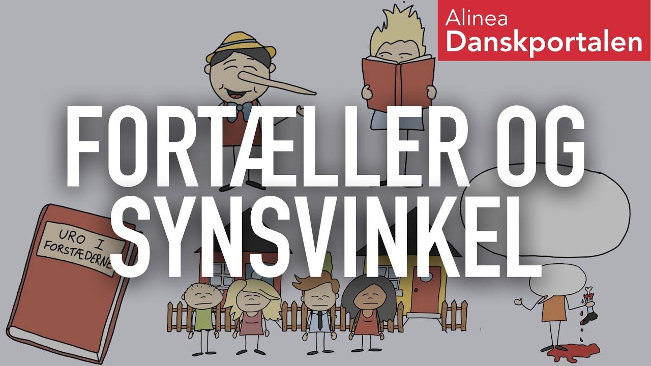 Fortæller og synsvinkel - animeret dansk
