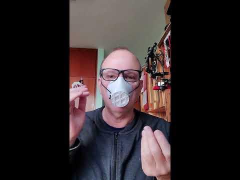 Reusable 3D printed face mask