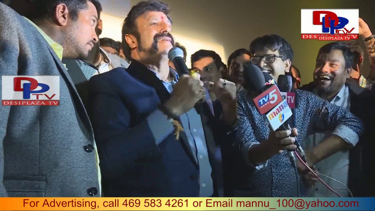 BalaKrishna Extraordinary Speech at Dallas, USA about GPSK | NBK#100 | GPSK Success | Krish | Shriya