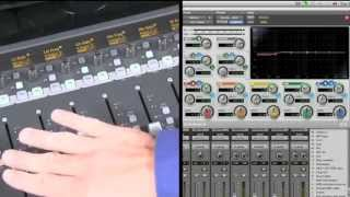 Avid Artist Mix Control Surface for Pro Tools Software - Avid Artist Mix