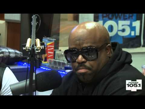 Cee Lo Green at The Breakfast Club Power 105 1