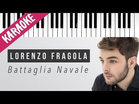 Lorenzo Fragola | Battaglia Navale // Piano Karaoke con Testo