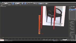 Создание стула - Урок 3D Max- Бесплатный курс Быстрый старт в 3Ds Max (день #2)