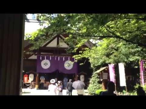 201564東京大神宮と靖国神社