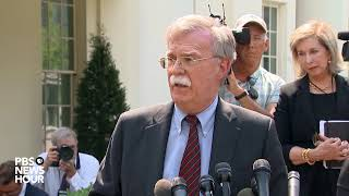 WATCH LIVE: Bolton to discuss situation in Venezuela