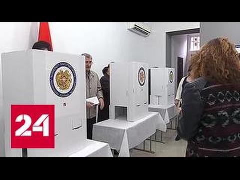 Выборы в Армении: электронная система не узнала отпечатки пальцев президента