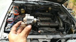 RPM DROP WHEN AC IS ON - EFI ENGINE IDLE UP - SERVO - IDLE AIR CONTROL VALVE Problem How To Diagnose