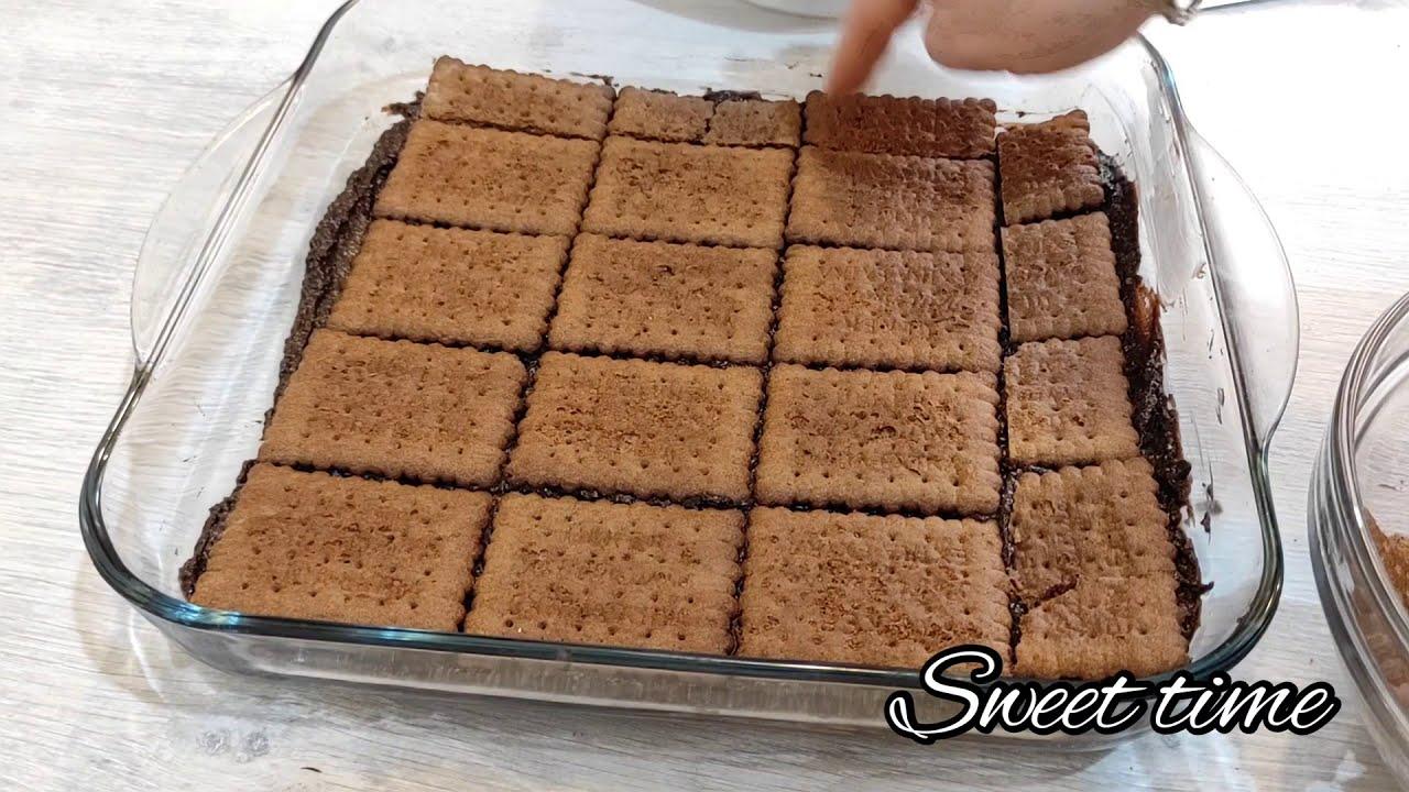 Peçenye tortu. Sobasiz, miksersiz asan hazırlanan tort.