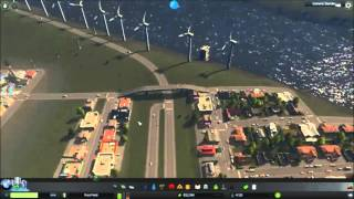 Cities: Skylines After Dark New City Tutorial (Easy, traffic-free grid pattern)