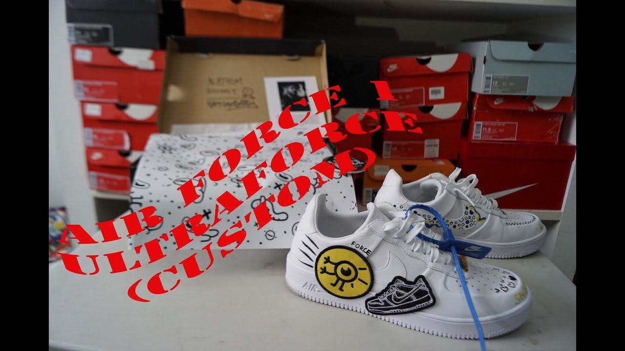 Nike 1 Nike 1 Air Ultraforcecustomreseñaenpies Force Force Ultraforcecustomreseñaenpies Air 1 Air Force Nike Ybgfv76y