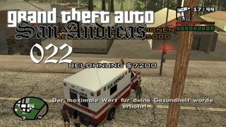 Grand Theft Auto (GTA) San Andreas - PARAMEDIC COMPLETE! (#022)