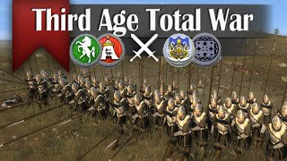 Might of the Elves - Third Age Total War (2v2 Online Battle #20)