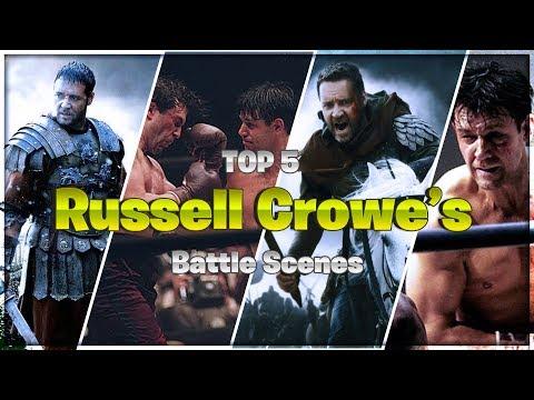 Russell Crowe - Top 5 Battle Scenes