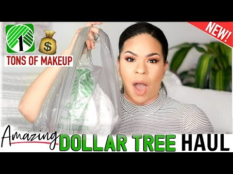 DOLLAR TREE HAUL  2019 | MUST SEE MAKEUP FINDS! What's New At The Dollar Store?!