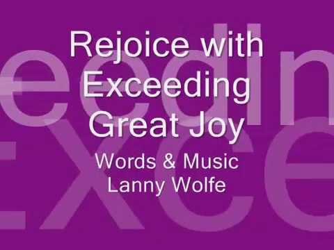 Rejoice with Exceeding Great JoyDEMO