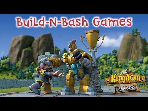 Kingdom Builders | Episode 14: Build-n-Bash Games | Cartoon Webisode for Kids