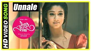 raja rani tamil movie songs unnale song nayanthara and jai decide to marry sathyaraj